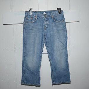 Lucky brand womens capris size 6 -4348-